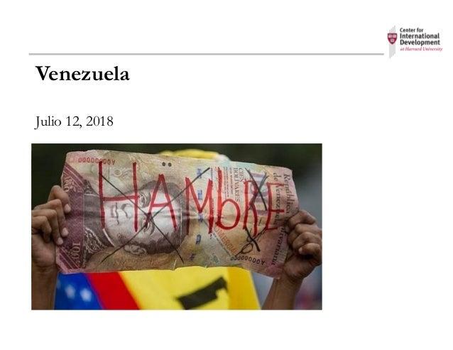 Venezuela Julio 12, 2018