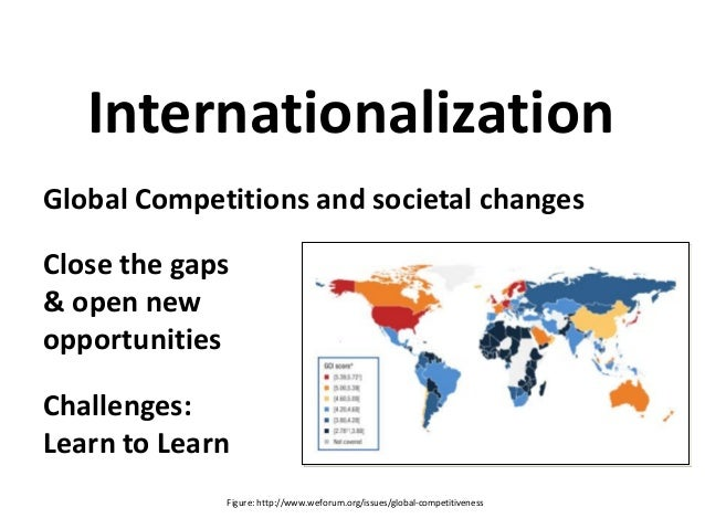 Global Competitions and societal changes Close the gaps & open new opportunities Challenges: Learn to Learn Internationali...