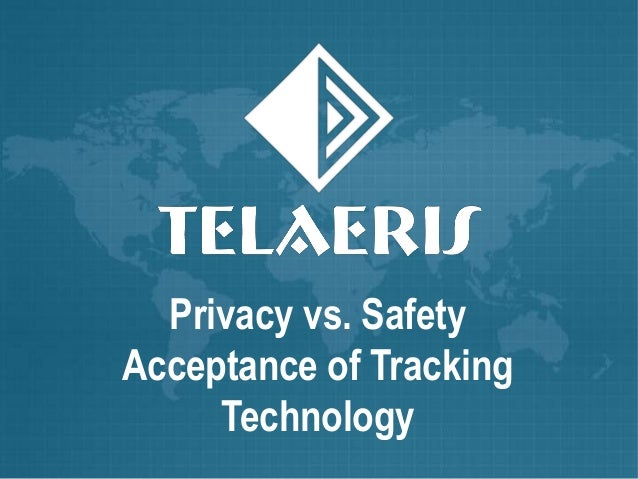 Privacy vs. Safety Acceptance of Tracking Technology