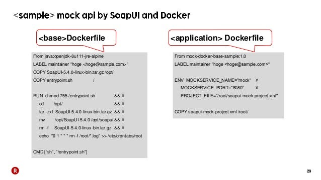 Rakuten Ichiba development Automation show case - Bamboo, Docker -