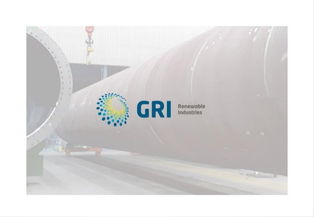GRI Renewable Industries Agosto 2018 | 1