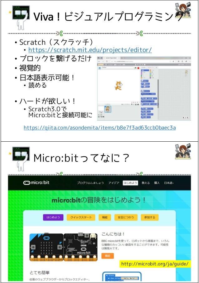 「Microbit」で簡単プログラミング体験 Slide 2