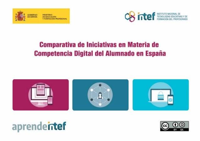 Comparativa de Iniciativas en Materia de CDA 2 Esta publicación es un informe sobre las distintas iniciativas en materia d...