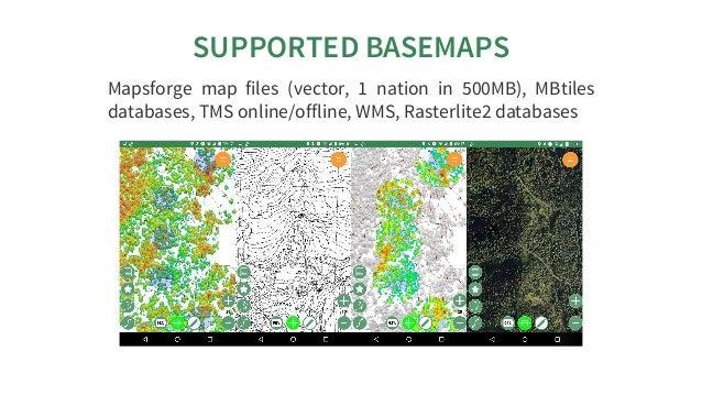 FOSS4G2018: presentation of the app Geopaparazzi