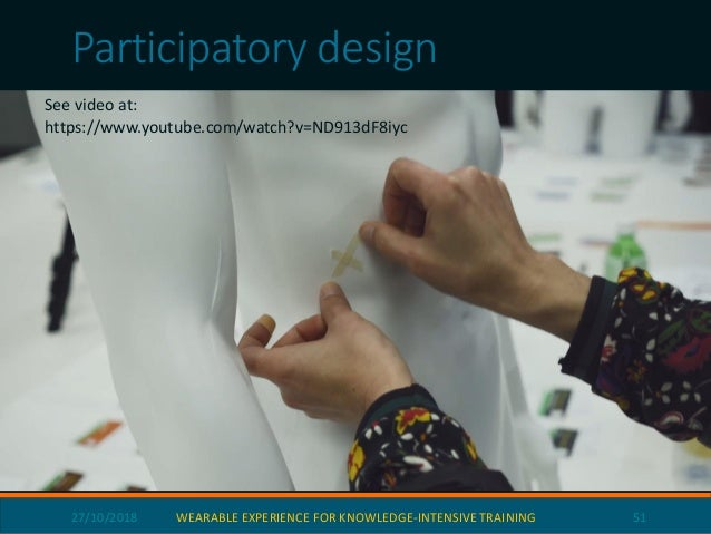 Wearable Sensors and Augmented Reality Gestures Hand gestures are captured if they are necessary to understand the perform...