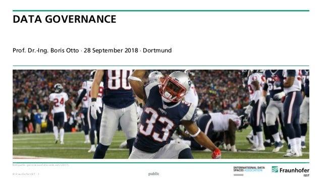 © Fraunhofer ISST DATA GOVERNANCE Prof. Dr.-Ing. Boris Otto  28 September 2018  Dortmund public Bildquelle: guinnessworl...