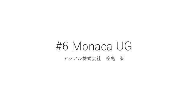 #6 Monaca UG アシアル株式会社 笹亀 弘