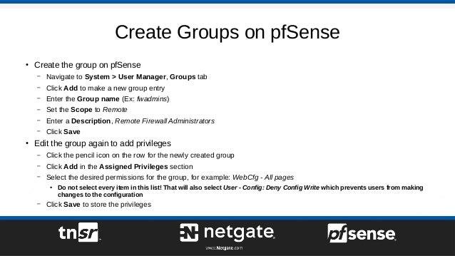Using Google Cloud Identity Secure LDAP with pfSense