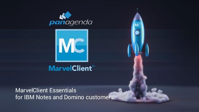 1 MarvelClient Essentials for IBM Notes and Domino customers