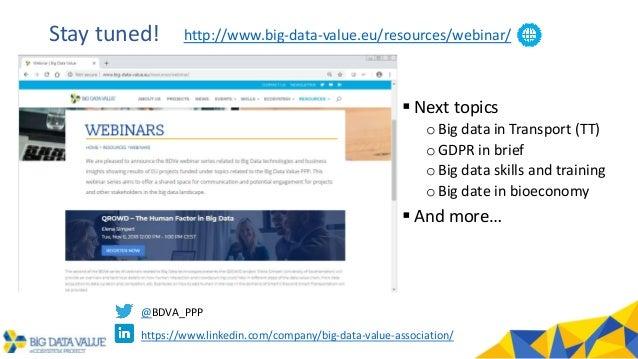 BDVe Webinar Series - QROWD: The Human Factor in Big Data Introduction Slide 3