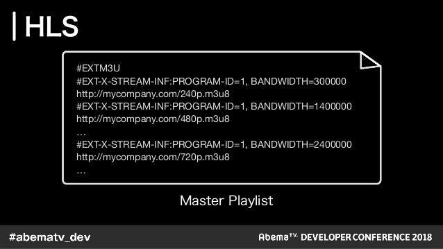 ExoPlayerで最適な視聴体験を届けるために / AbemaTV DevCon 2018 TrackB