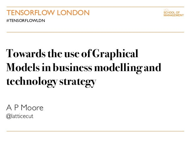 Towards the use ofGraphical Models in business modelling and technologystrategy A P Moore @latticecut TENSORFLOW LONDON #T...