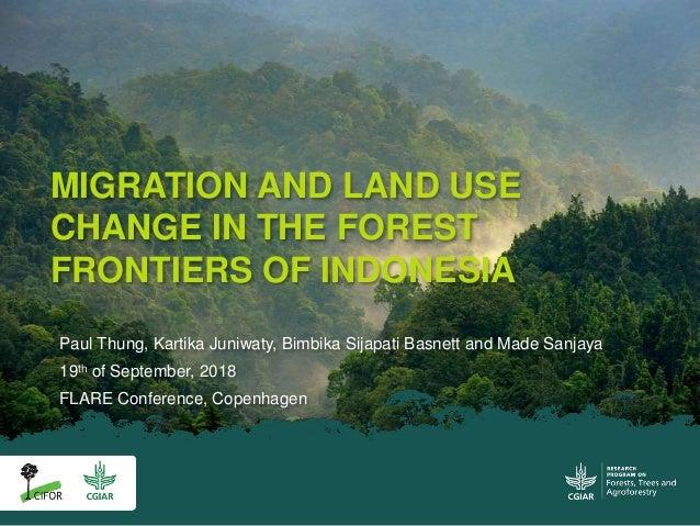 Paul Thung, Kartika Juniwaty, Bimbika Sijapati Basnett and Made Sanjaya 19th of September, 2018 FLARE Conference, Copenhag...