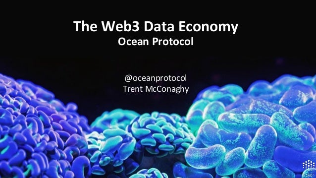 @oceanprotocol Trent McConaghy The Web3 Data Economy Ocean Protocol