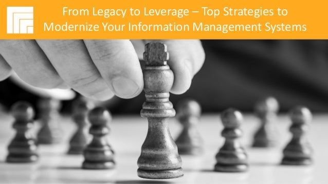 Underwritten by: Presented by: #AIIMYour Digital Transformation Begins with Intelligent Information Management From Legacy...