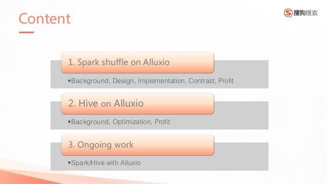 The Practice of Alluxio in-memory filesystem in Sogou Slide 3