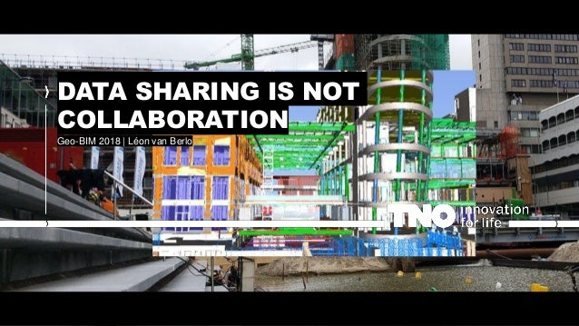 DATA SHARING IS NOT COLLABORATION Geo-BIM 2018 | Léon van Berlo