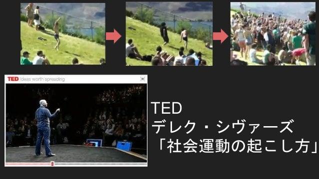 アホ踊り 画像出典:TED「社会運動の起こし方」