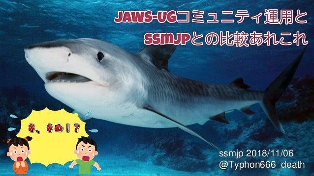 ssmjp 2018/11/06 @Typhon666_death