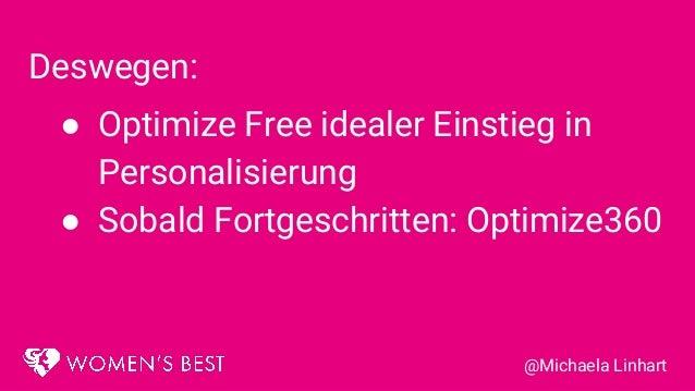 20181107 personalisierung auf basis von kundensegmenten mit google optimize (free)