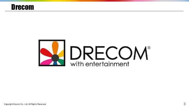 Copyright Drecom Co., Ltd. All Rights Reserved. 3 Drecom