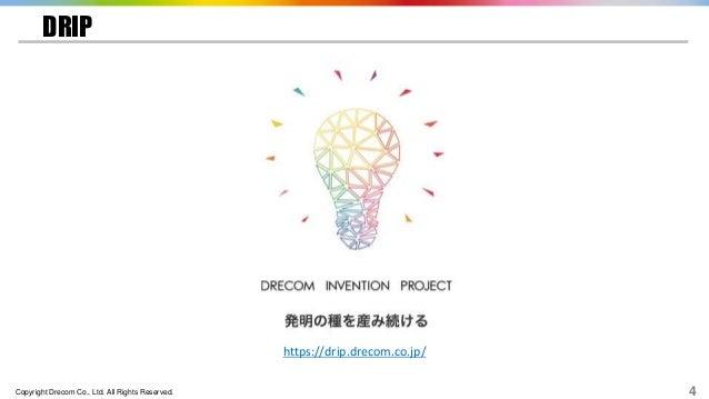 Copyright Drecom Co., Ltd. All Rights Reserved. 4 DRIP https://drip.drecom.co.jp/