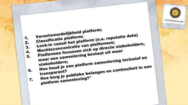 Introductie deeleconomie bijeenkomst Stadslab2050