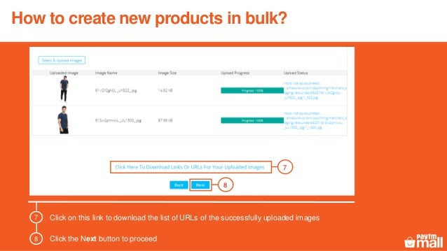 Upload a new product updated