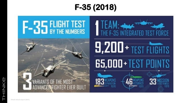 F-35 (2018) RAeS Article (April 2018)