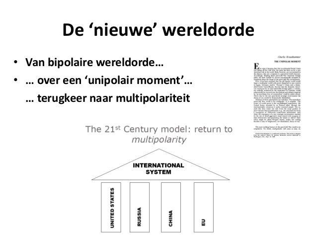RIK COOLSAET – PERSPECTIEF IN DE WERELDPOLITIEK Slide 3