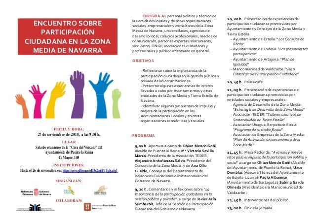 """FECHA Y HORA: 27 de noviembre de 2018, a las 9:00 h. LUGAR Sala de reuniones de la """"Casa del Vínculo"""" del Ayuntamiento de ..."""