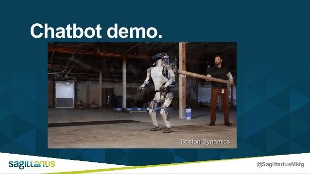@SagittariusMktg Chatbot demo.