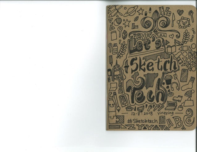 """Sketchnotes from """"Let's Sketch Tech""""!"""