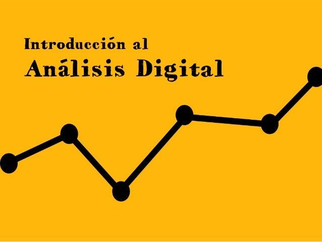 Introducción al Análisis Digital