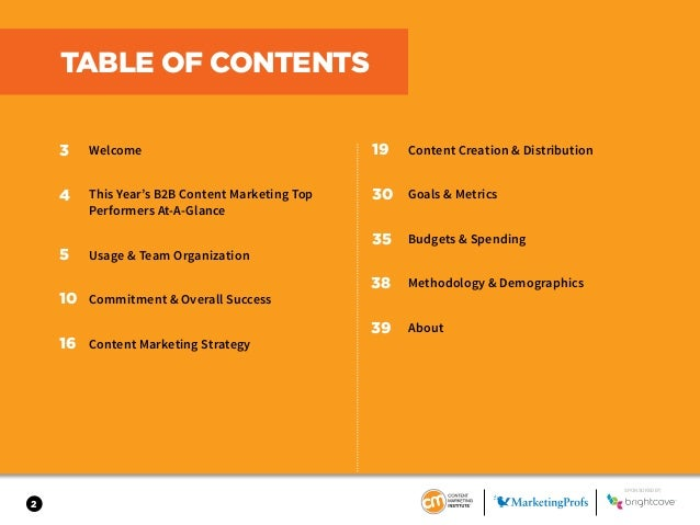 2018 Content Marketing Benchmarks Budgets and Trends - North America Slide 2