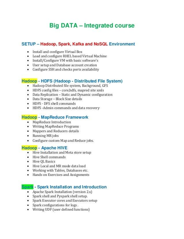 Big data_hadoop_spark_kafka_nosql_training