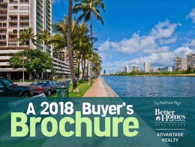 Brochure A 2018 Buyer's by Mathew Ngo