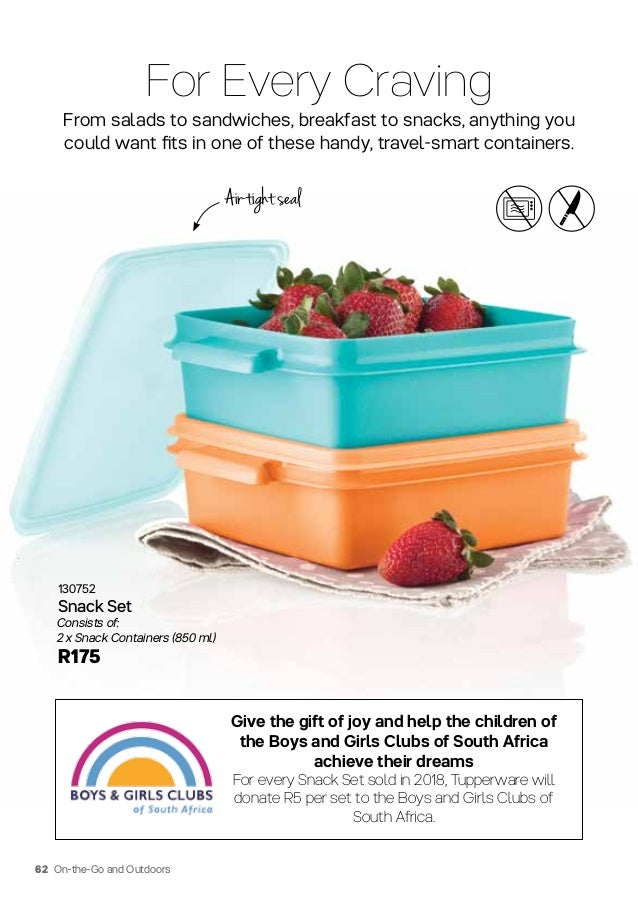 Tupperware 2018 Catalog