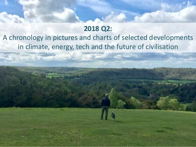 2018 Q2: A chronology in pictures and charts of selected developments in climate, energy, tech and the future of civilisat...
