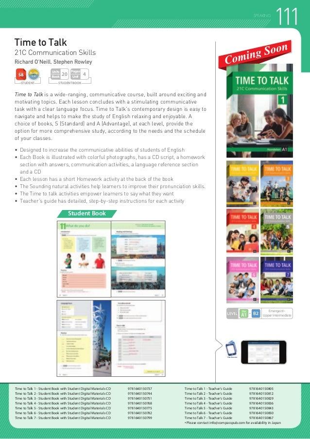 2018 Compass Publishing ELT Catalog