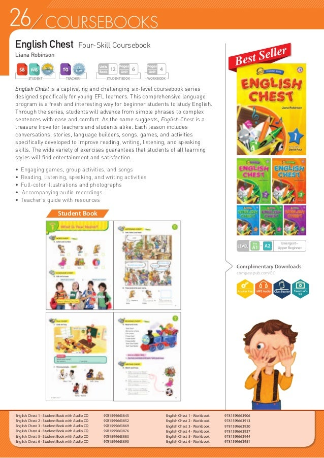 27COURSEBOOKS English Chest 1 - Teacher's Guide with CD-ROM  9781599665030 English Chest 2 - Teacher's Guide with CD-ROM ...