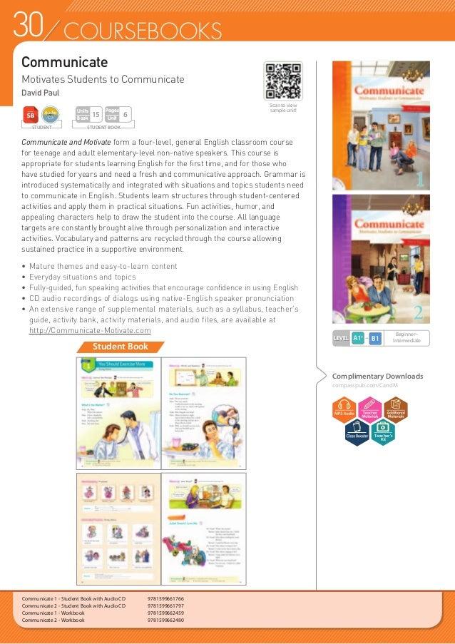 31COURSEBOOKS Motivate Motivates Students to Communicate David Paul Student Book Motivate encourages students of intermedi...