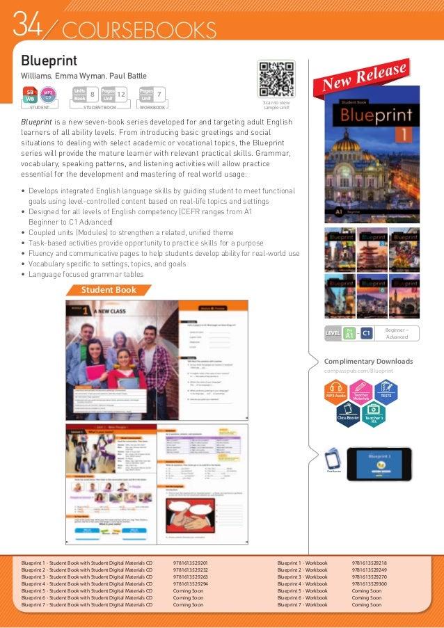 35COURSEBOOKS Blueprint 1 - Teacher's Guide with Classroom Digital Materials  9781613529225 Blueprint 2 - Teacher's Guide...