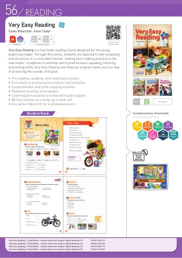 57READING Real Easy Reading is a three-level series that equips young learners of English with the necessary skills for th...