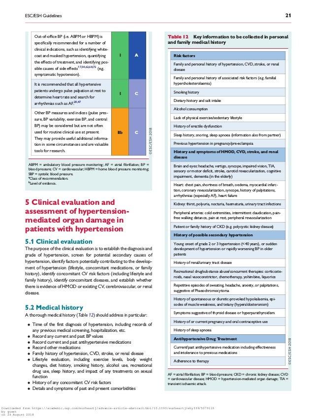 2018 esc esh guidelines for the management of arterial