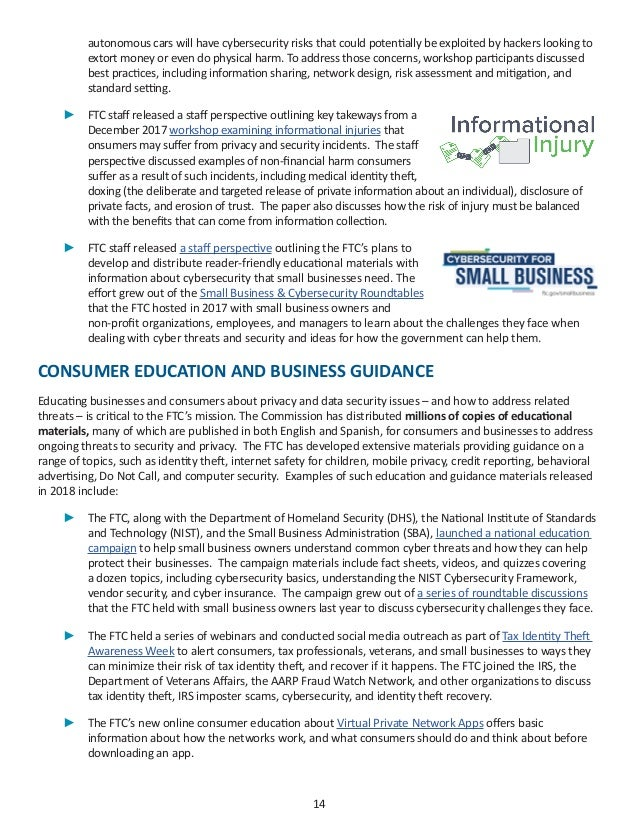 2018 Privacy & Data Security Report