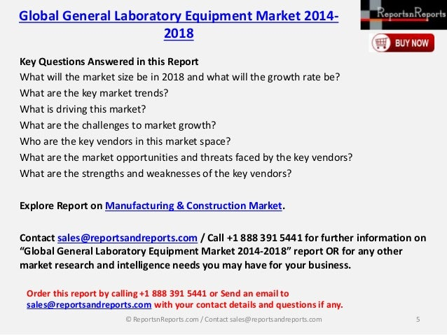 global general laboratory equipment market 2014 2018 Global general laboratory equipment market worth  the general laboratory equipment: global  global market trends, with data from 2014,.