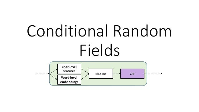 Conditional Random Fields (CRF) • Consider we use 𝑿𝑿 = 𝒙𝒙1, … , 𝒙𝒙𝑛𝑛 for input sequence and 𝒚𝒚 = 𝑦𝑦1, … , 𝑦𝑦𝑛𝑛 for sequenc...
