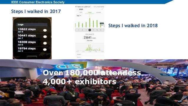 2018 CES download - Wearable, IoT & Cars