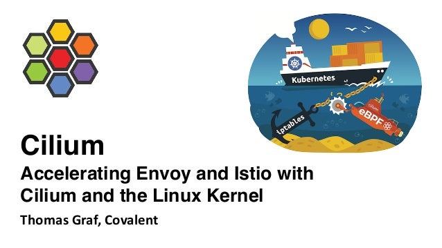 Cilium Accelerating Envoy and Istio with Cilium and the Linux Kernel Thomas Graf, Covalent